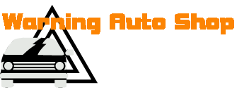 Warning Auto Shop